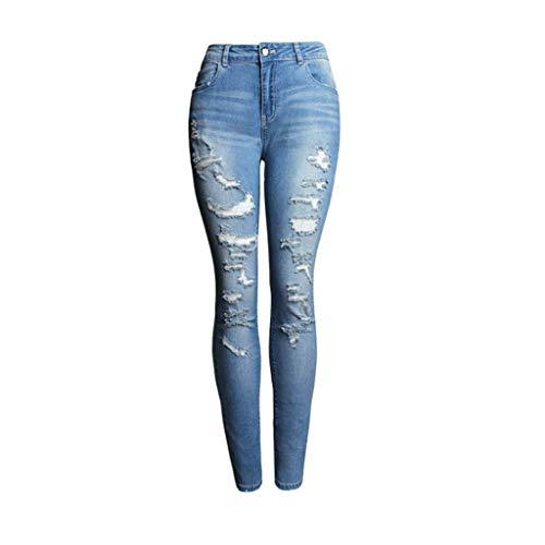 Alta Blu Donna Rxf Da Rame A Jeans Vivo Vita Taglio Con Piedini In qTqO7wfU8