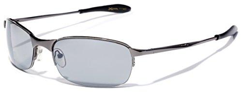 X-Loop Metal Half Frame Sports Sunglasses