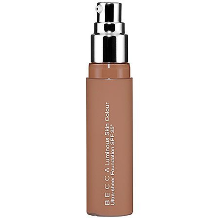 BECCA Luminous Skin Colour Ultra Sheer Foundation SPF 25+ Mink 1.7 oz by Becca Cosmetics by Becca Cosmetics