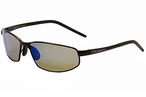Serengeti Men's Granada 8260 Satin Black Sport Sunglasses