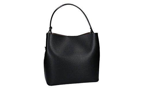 Borsa donna a mano PIERRE CARDIN nera pelle Made in Italy VN1432