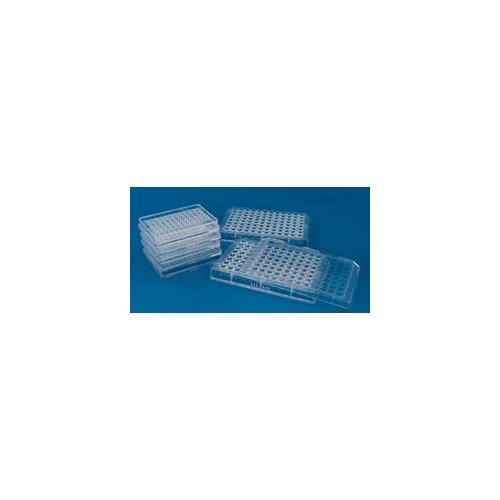 EMS 70439-10 MicroWell Plate with Lid, 72-Well, Conical (Pack of 10) - Microwell Plate