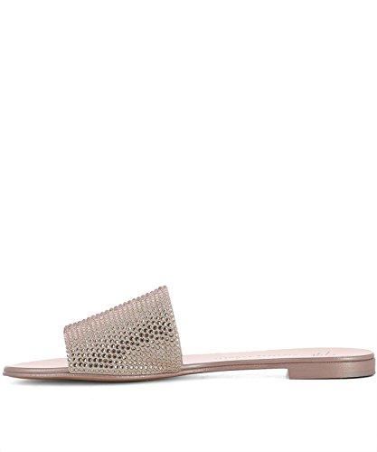 Giuseppe Zanotti Design Damen E800165002 Rosa Leder Sandalen