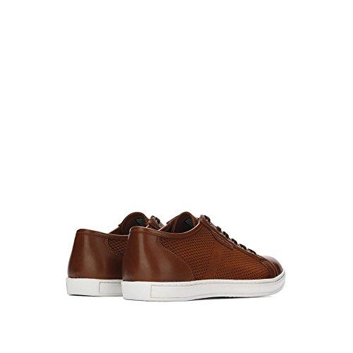 Kenneth Cole New York Heren Merk B Sneaker Cognac
