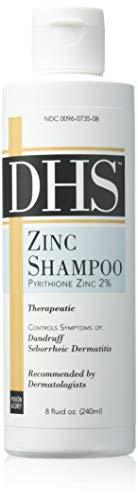 DHS Zinc Shampoo 8 oz (Pack of 2) ()