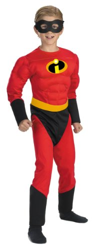 The Incredibles Dash Costume (The Incredibles Dash Muscle Costume - Child Costume - Medium (7-8))