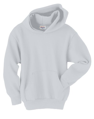 Hanes Youth Comfortblend Ecosmart Pullover Hood (Ash) - Sweatshirt Grey Ash