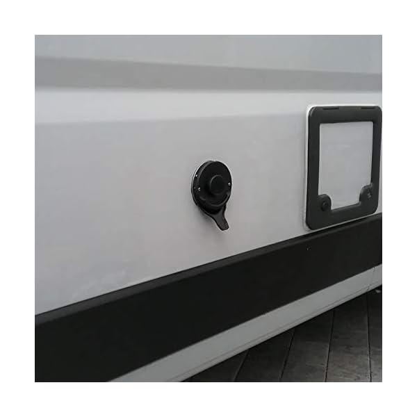 Manufaktur3D Kondenswasserablauf Kaminschild Ablauf für Deckel Kamindeckel Kaminabdeckung Abgaskamin der Heizung an…