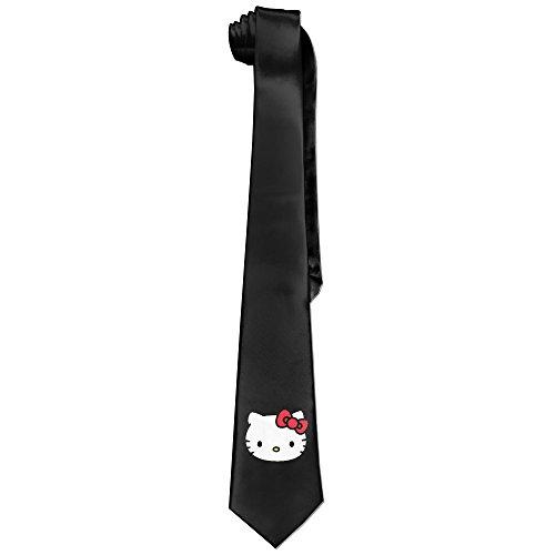 Mens-Hello-Kitty-Necktie-Ties