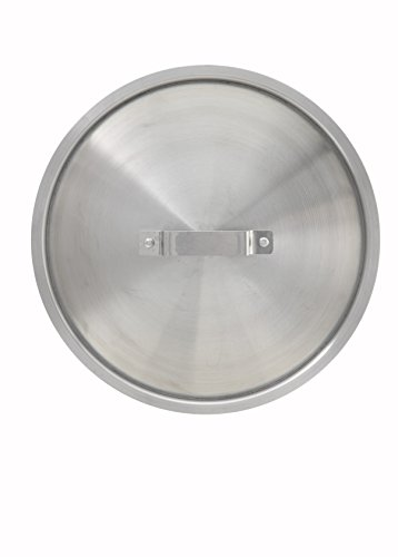 - Winco AXS-16C Stock Pot Cover, 8/10/12/16-Quart