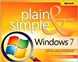 img - for Windows 7 Plain & Simple 1st (first) edition Text Only book / textbook / text book