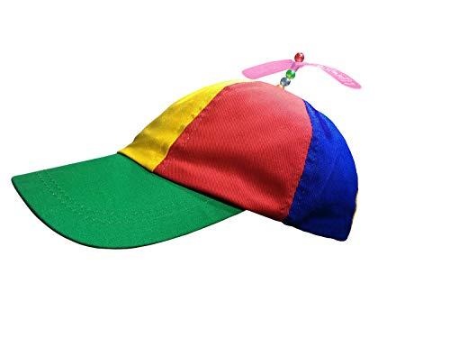 Nicky Bigs Novelties Multi-Color Propeller Ball Cap, Multi, One Size