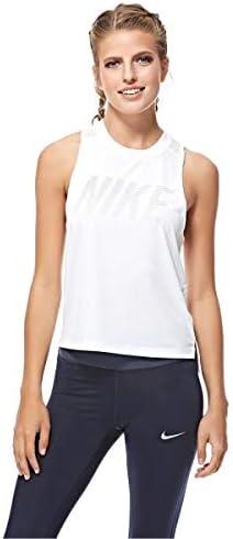 TALLA S. Nike W Dry Miler Tank Top, Mujer