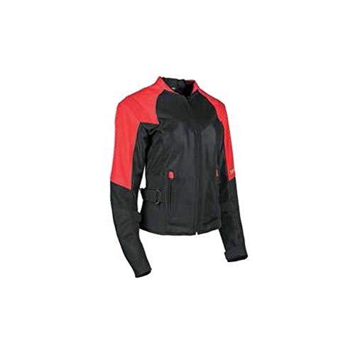 - Speed and Strength Sinfully Sweet Mesh Women's Street Motorcycle Jacket - Red/Black/Medium