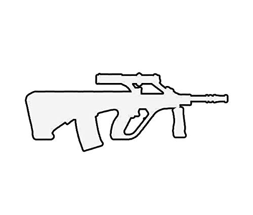 ION Graphics AUG Sticker Die Cut Decal Steyr AUG A1 5