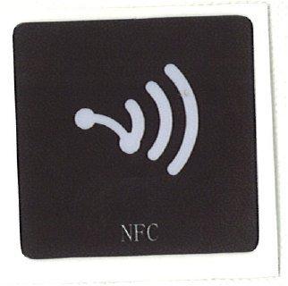NFC - Etiqueta NFC (con adhesivo, compatible con la mayoría de ...