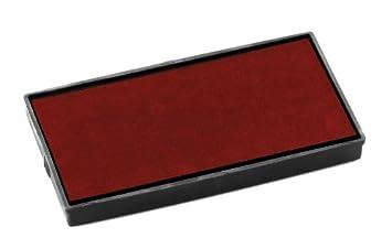 Colop E/25Pack di 2ricariche Feltrini Pre-inchiostrati per Printer 25 rosso E/25 red/2 pcs
