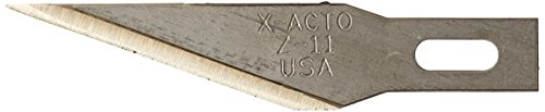 X-ACTO Z Series Replacement Blade, No. 11, Stainless Steel, Pack of 100