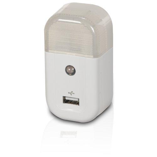RCA USBNL1R USB Home Nightlight Charger - White