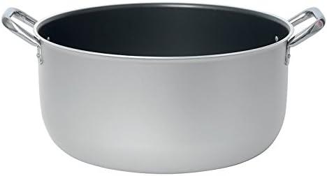 32 cm Alluminio Argento Excelsa Tegame 2 Manici