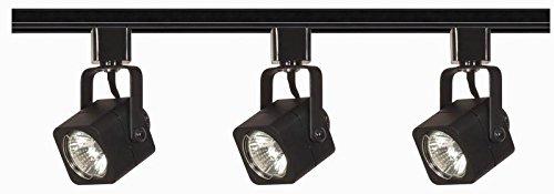 (Nuvo Lighting TK346 Three Light Track Kit, Black)