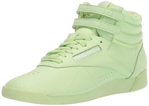 Reebok Women's F/S HI Colors Sneaker, Lime Glow/White, 8 M US ()