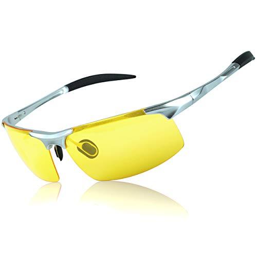 a1ec8454df5 Duco Night-vision Glasses Polarized Night Driving Men s Shooting Glasses  8177
