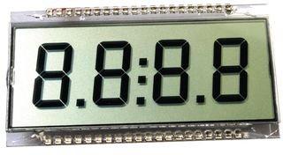 LUMEX LCD-S401C71TR NUMERIC LCD DISPLAY 5 pieces