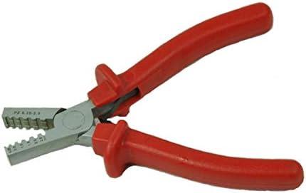 ケーブルカッター 圧着プライヤー 0.25-2.5mm² ミニスモールケーブル エンドスリーブフェルール 圧着工具 圧着ペンチ 手動ケーブルカッター