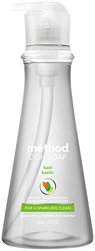 - Method, Dish Soap Basil, 18 Fl Oz