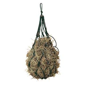 Dover Saddlery Cotton Rope Hay Net - Dark Green