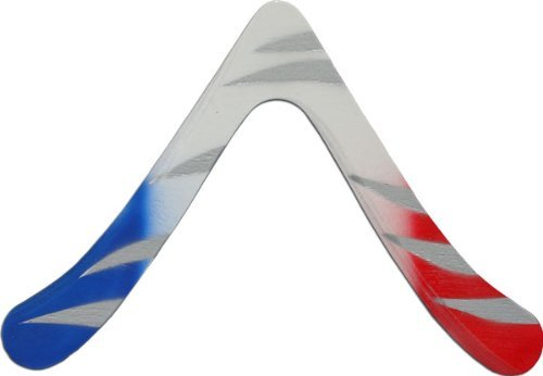 Aspen Wooden Boomerangs - Great for kids 8-18! Real Right Handed Boomerangs for even beginner Boomerang Throwing. For low to moderate wind (Throwing Warm Up S)