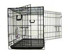 Pet Tek Dreamcrate Professional Series 400 2-Door Crate 36 Inch x 23 Inch x 26 Inch – Black Review