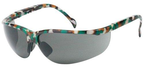 Liberty Glove /& Safety 1717C Black Frame Case of 12 Pairs Liberty ProVizGard Magnum Protective Eyewear Clear Lens
