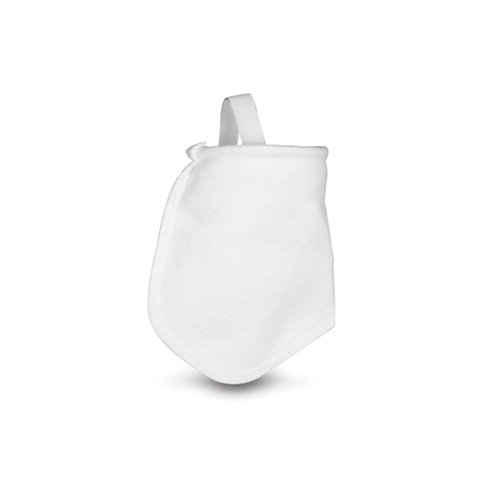 "Rosedale Products PO-10-P3S Polypropylene Felt filter Bags , 4"" x 8"" , White (Pack of 50) by Rosedale"