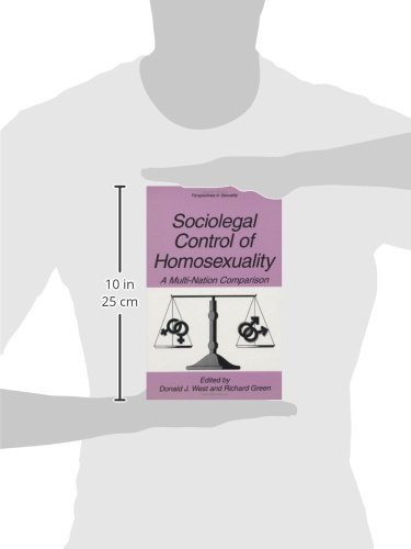 Sociolegal Control of Homosexuality: A Multi-Nation Comparison (Perspectives in Sexuality) by Springer