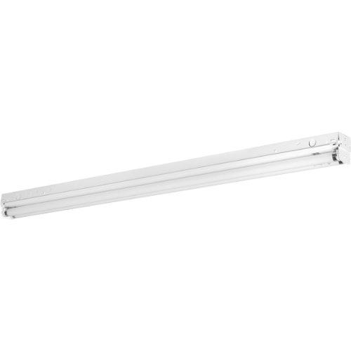 Progress Lighting P7268-30EB Fluorescent Strip Lights 120 Volt Normal Power Factor Electronic Ballast, White