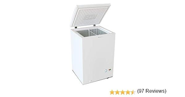 Congelador Arcón MILECTRIC Horizontal (Blanco) A+ 100 litros ...