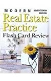 Modern Real Estate Practice Flashcards, Fillmore Galaty and Wellington J. Allaway, 1419535552