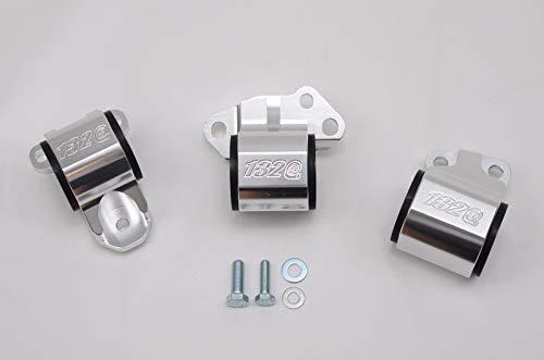 1320 Performance B & D series motor mount 2 bolt driver side billet EG DC2 65A - Series Mount B Kit