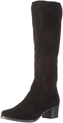 001 Boots Black Women's Long Caprice Black 25507 wqYSxtqpB
