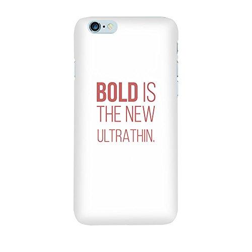 iPhone 6/6S Coque photo - Bold est mince