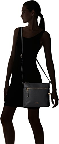 L Maxima Credi Bag Schwarz Black Women's Shoulder 1 rBrwnFOq
