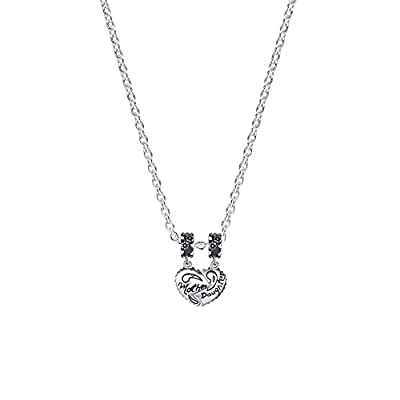 Glamulet Sports - Mother & Daughter Heart S Dangle Charm -- 925 Sterling Silver from Glamulet
