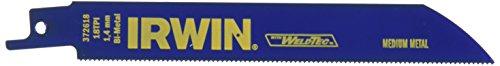 IRWIN Tools Metal Cutting Reciprocating Saw Blade, 6-Inch, 18 TPI (Reciprocating Saw Circular Saw)