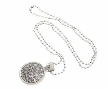 Amazon power balance zinc alloy silver pendant necklace health power balance zinc alloy silver pendant necklace mozeypictures Image collections