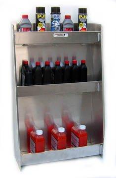 Pit Posse 523 Variety Shelf Cabinet Aluminum Enclosed Race Trailer Shop Garage Storage Organizer by Pit Posse