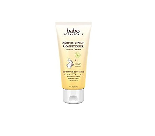 Babo Botanicals Oatmilk Calendula Moisturizing Baby Lotion, 8 Ounce - Best Baby Lotion for Soothing Sensitive Skin; Helps Relieve Eczema; Natural Oat and Organic Calendula (Moisturizing Natural Lotion)