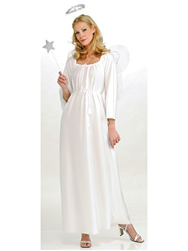 Rubie's Angel Costume, White, One Size -