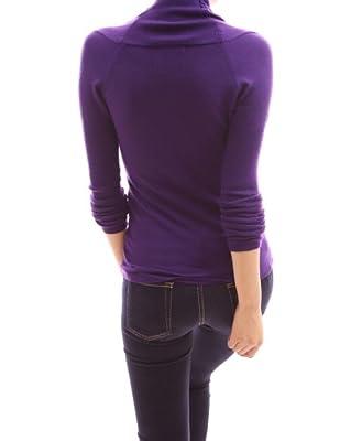 PattyBoutik Women's V Neck Empire Waist Knit Top